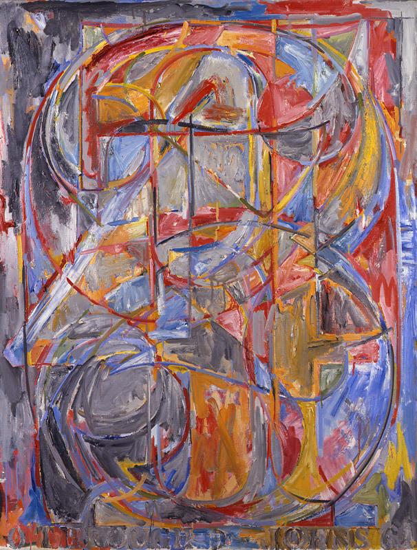 0 through 9 ,1961 by Jasper Johns