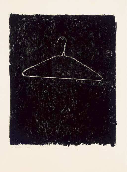 Coat Hanger 1960 By Jasper Johns