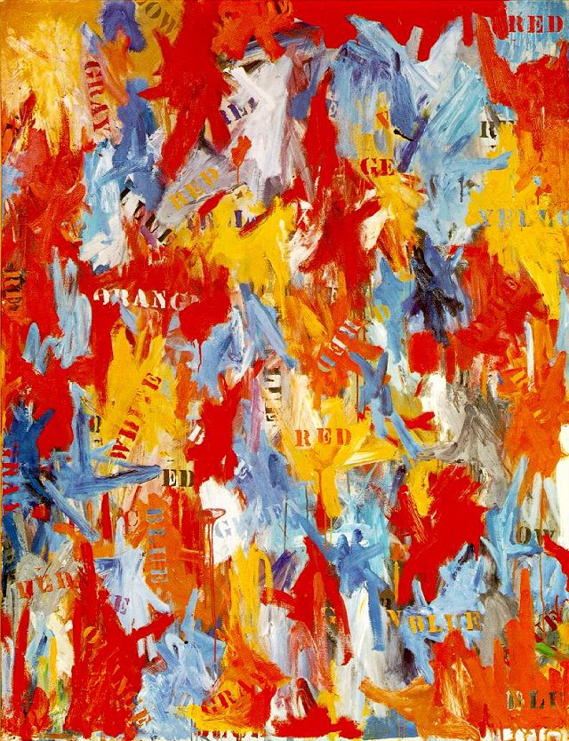 false start 1959 by jasper johns