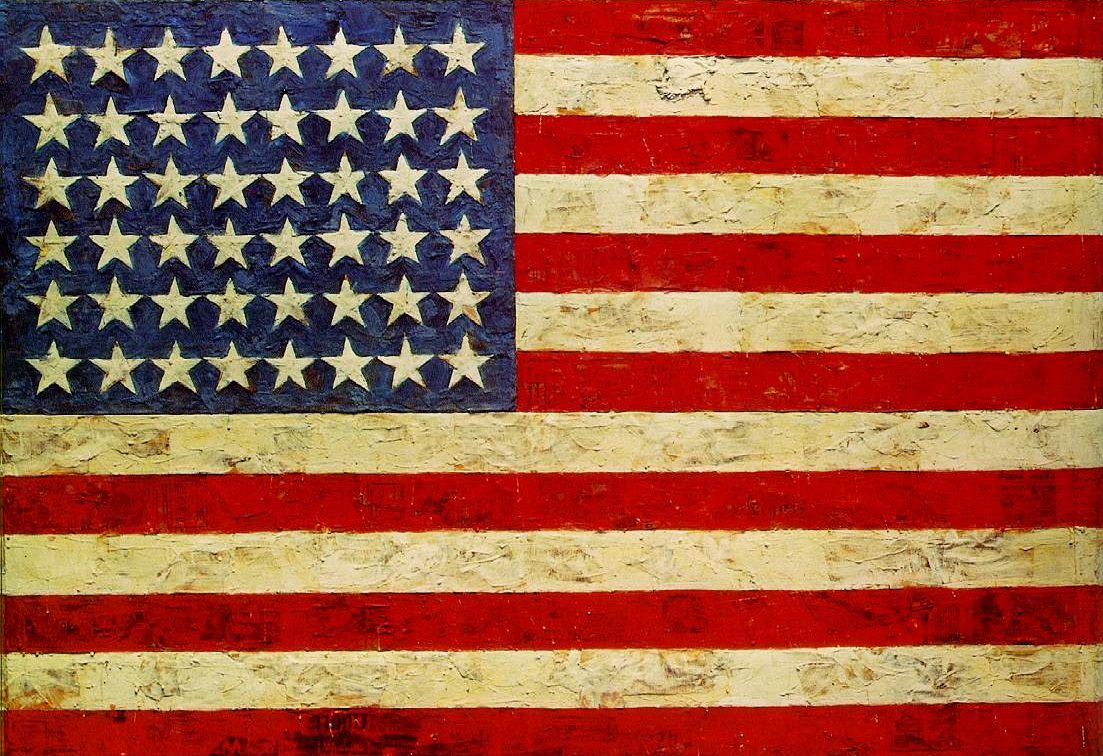 Flag 1954-55 by Jasper Johns