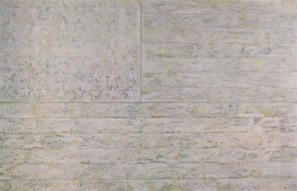 White Flag by Jasper Johns